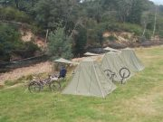 Camping by Ringarooma River